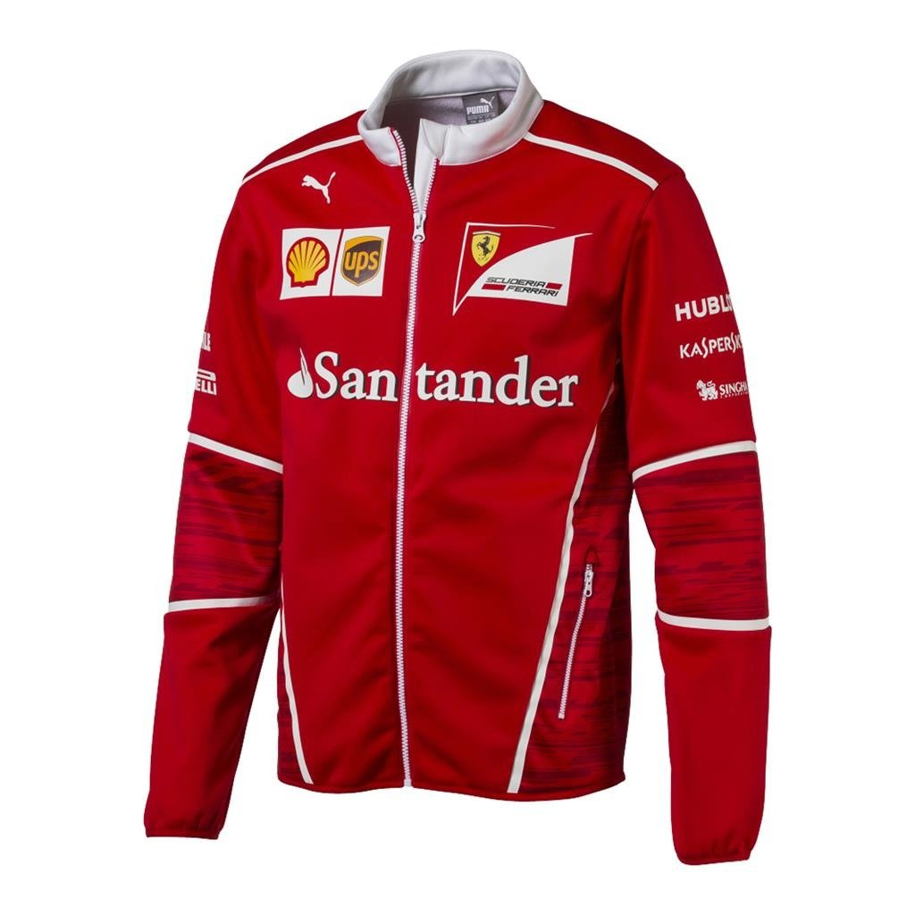Mens Scuderia Ferrari F1 Softshell Team Jacket Ebay
