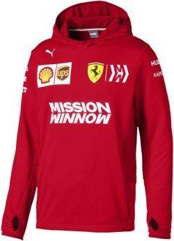 Black 3 Bluza Ferrari hooded Sweatshirt