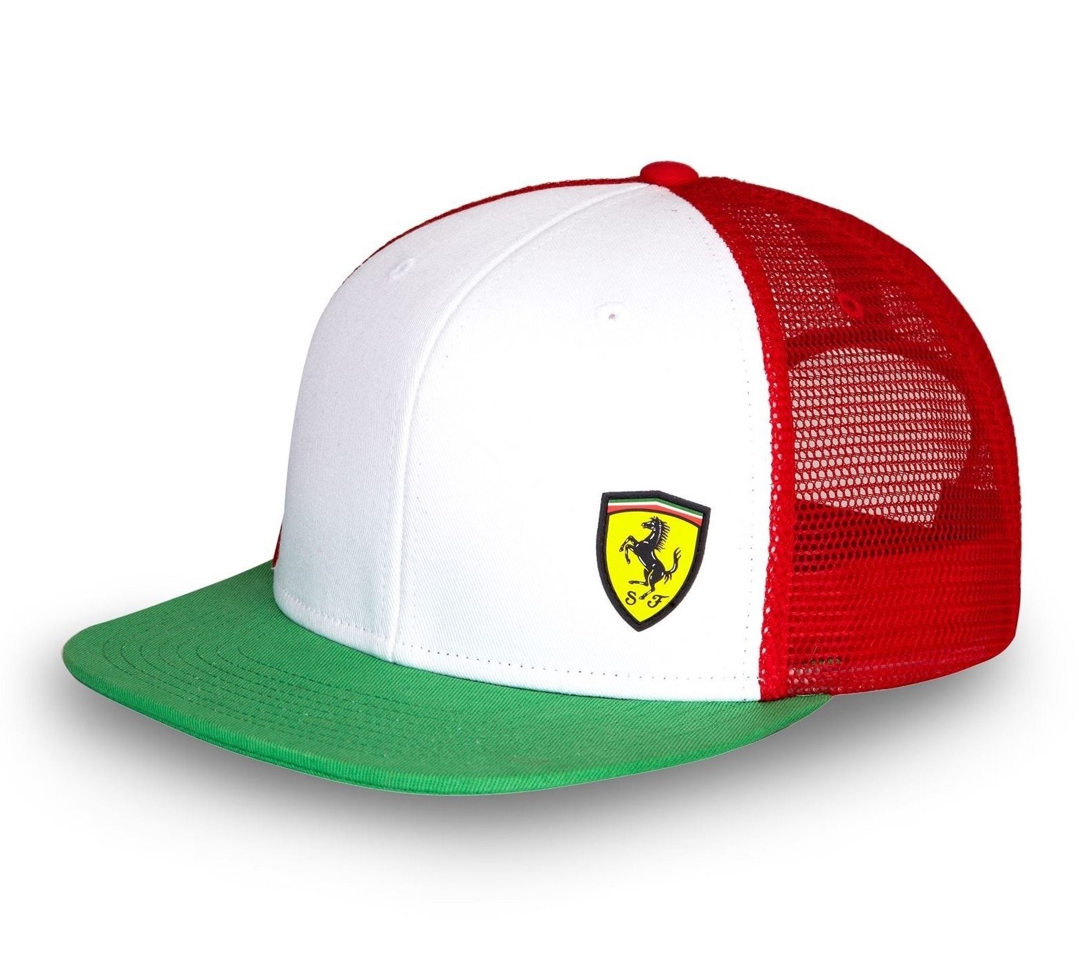 mens black red hat puma team official pin ebay scuderia ferrari formula cap