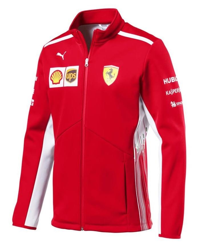 601d9e7682f6 Scuderia Ferrari Softshell Team Jacket 2018 Click to zoom ...