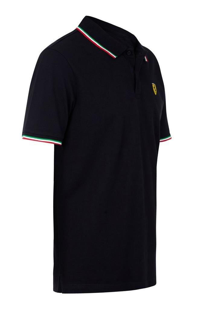 Scuderia Ferrari Polo Italia Negro