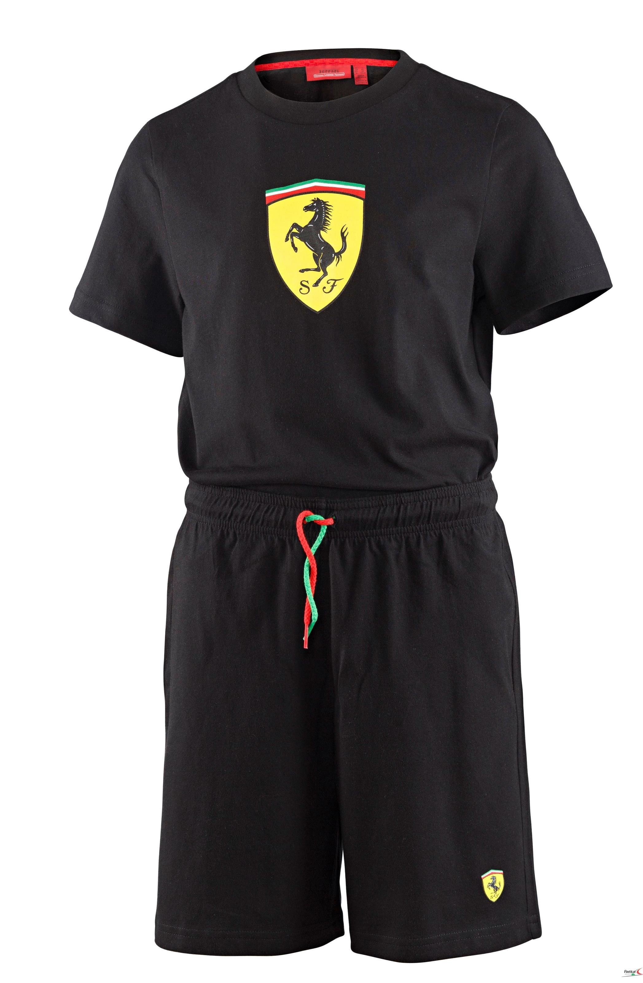 printed short scuderia kids f patches ferrari store shirt online official lu t with unisex en item sleeve