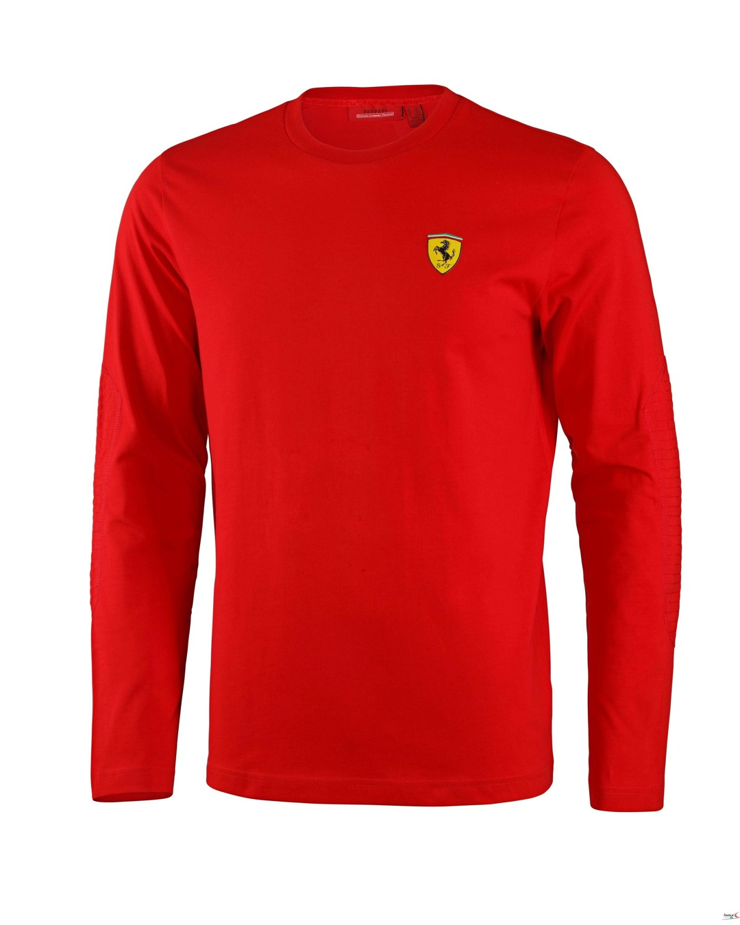 Bluza Ferrari Long Sleeve Tee - Red 3