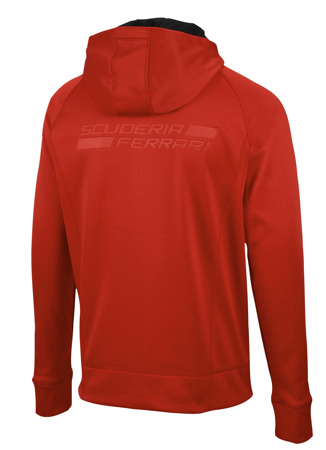 Bluza Ferrari Powerstretch Hood - Red