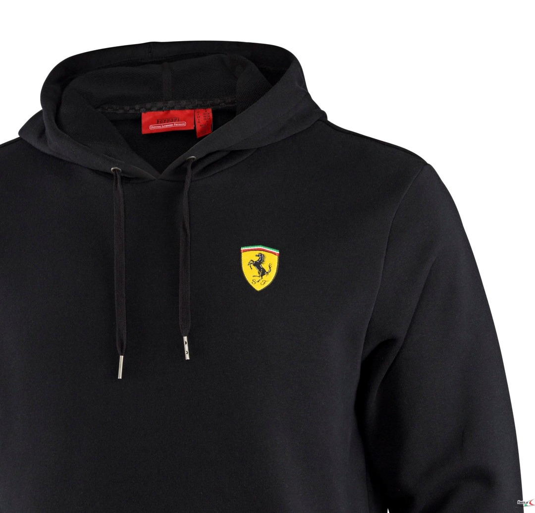 Bluza Ferrari hooded Sweatshirt - Black 3