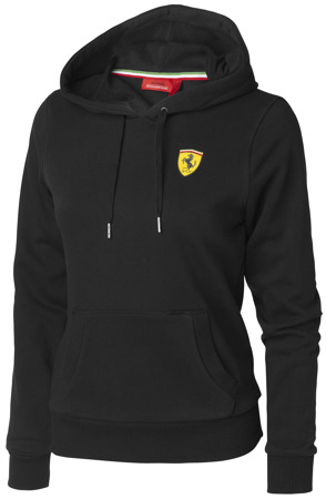 Ferrari Womens Hooded Sweatshirt