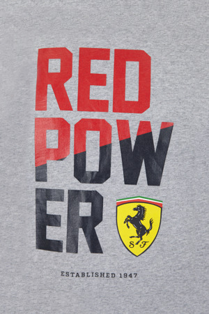 Scuderia Ferrari Red Power Graphic Tee