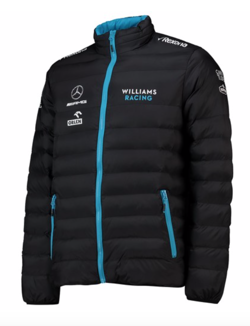 Williams Racing F1 Herren Team Gefütterte Jacket
