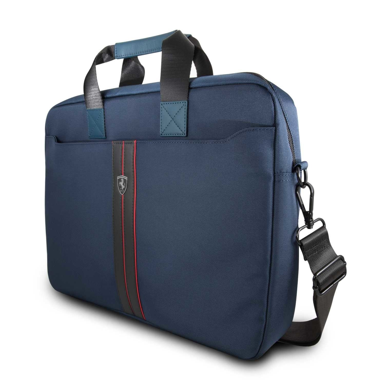 Ferrari F1 Universal Laptop Bag 15 Inch Niebieski Ferrari Accessories Ferrari Sporttaschen Fbutik Eu Scuderia Ferrari Collection