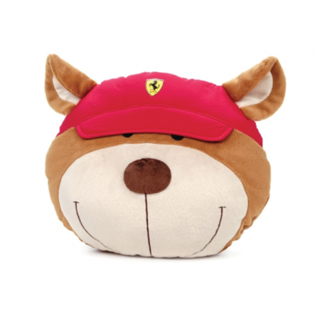 Ferrari Teddy Face Cushion