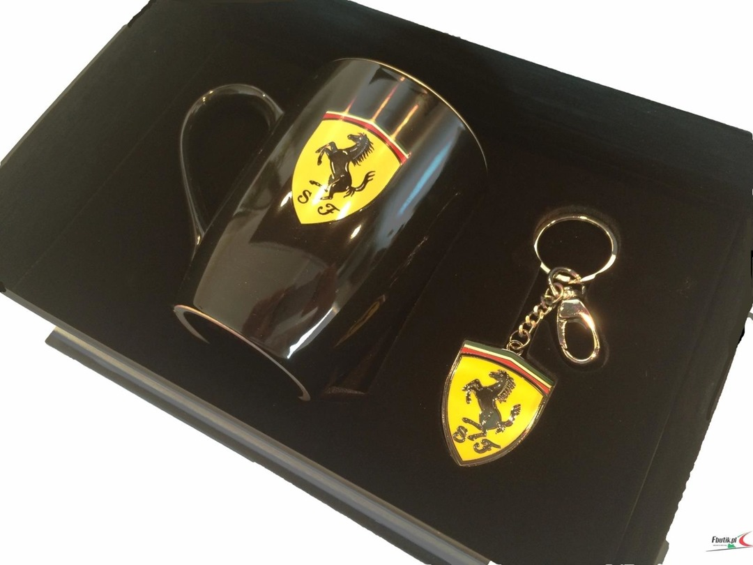 Ferrari giftbox (cup and keyring)
