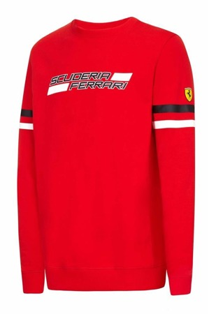 Mens Ferrari Crew Sweat
